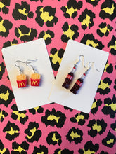 Load image into Gallery viewer, Coca Cola bottle earrings