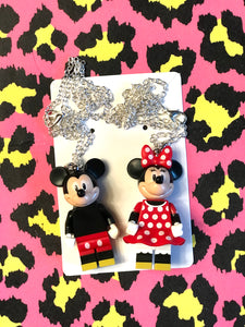 Lego Mickey and Minnie Mouse 🐭 Necklaces