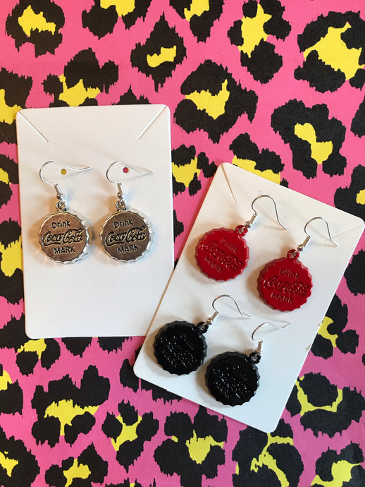 Coke Cap Earrings