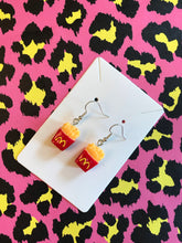 Load image into Gallery viewer, 🍟 French Fry Earrings