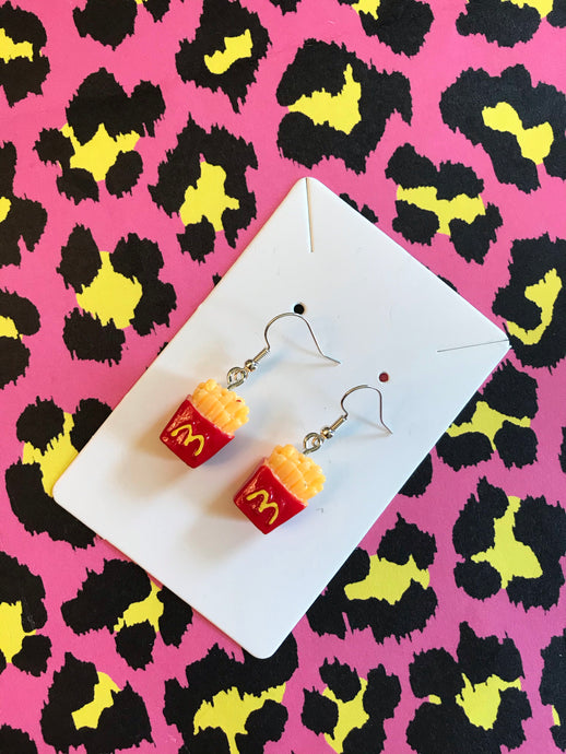 🍟 French Fry Earrings