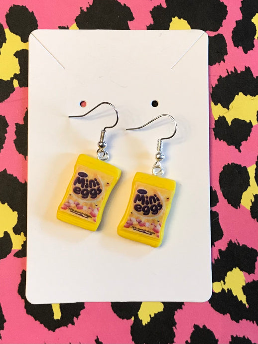 Mini Egg Packet Earrings