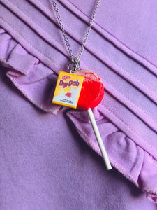 Dip Dab Necklace with charm