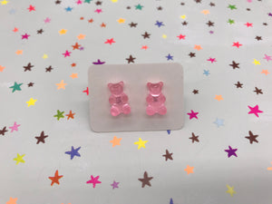 Gummy Bear Stud Earrings