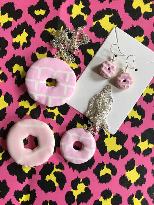 Mini Party Ring Earrings
