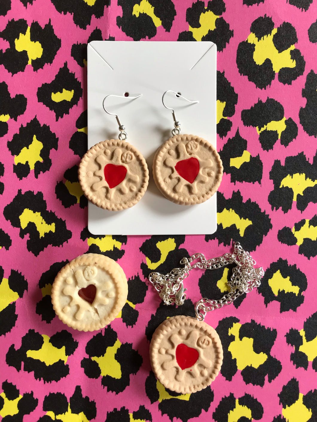 Jammie Dodger Earrings