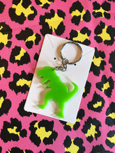 Load image into Gallery viewer, Dinosaur Keyring