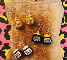 Load image into Gallery viewer, Marmite Earrings