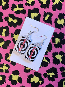 Black Jack Earrings