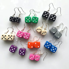 Load image into Gallery viewer, Dice Earrings