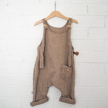 Load image into Gallery viewer, Papillon Dungaree - Mocha (unisex)