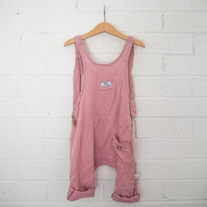 Papillon Dungaree - Dusty Pink