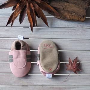 Leather Soft Sole Booti's - Pink/Frost