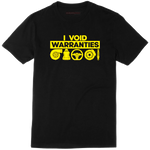OFFICIAL 'I VOID WARRANTIES' TEE