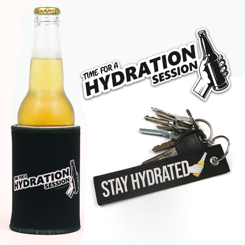 HYDRATION SESSION MERCH PACK - Bundle