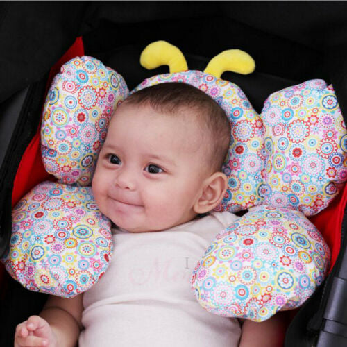 Cute Infant Baby Car Seat Pillow