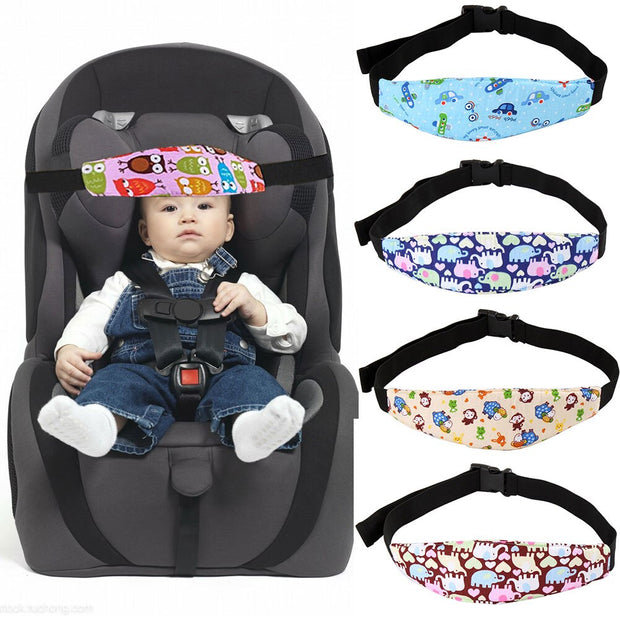 Head Support Pram Safety Sleeping