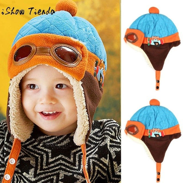 Baby Girl Winter Warm Cap