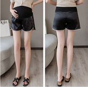 Women Maternity Elastic Waist Short