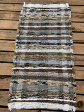 "Load image into Gallery viewer, Handwoven Rug Brown Series 25""W x 48""L"
