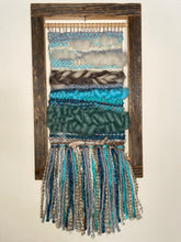 "Load image into Gallery viewer, Handwoven Tapestry Superior Summer Day 10""W x 17""L"