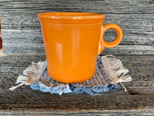 Load image into Gallery viewer, Handwoven Mug Rugs Blue Jean Set-4
