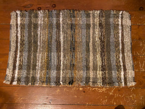 "Brown Series Handwoven Rug 25""W x 41""L"