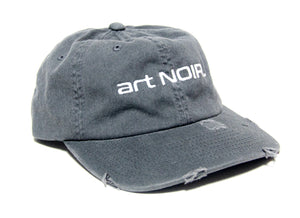 Grey art NOIR. embroidered hat