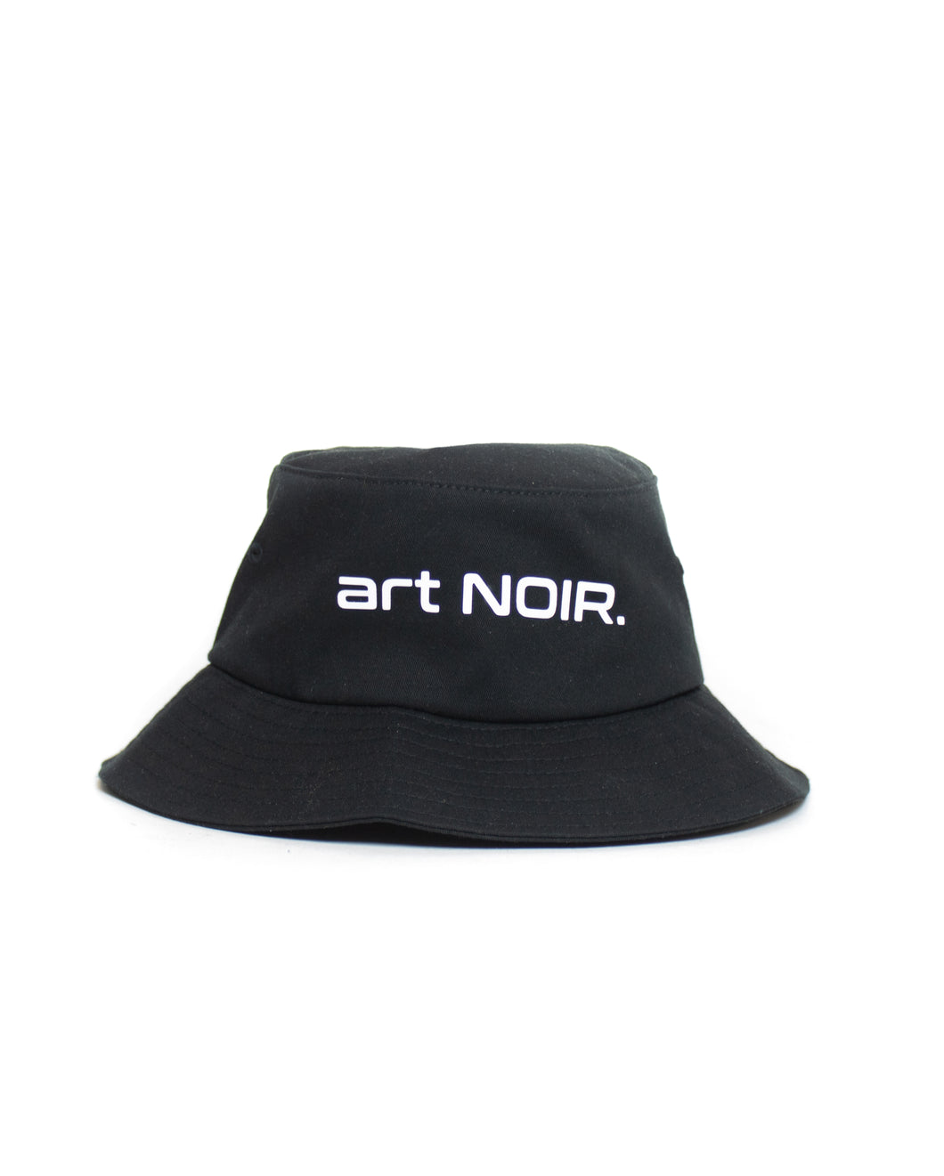 Black Bucket Hat art NOIR.