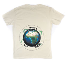 Load image into Gallery viewer, CREAM ''art NOIR WORLD'' OVERSIZED T-SHIRT