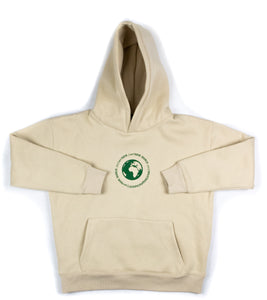 CREAM ''art NOIR WORLD.'' SWEATSUIT