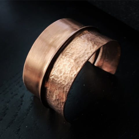 Hammered Copper Cuff