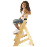 Keekaroo Height Right™ Kids Chair, Natural - Baby Strollers Place
