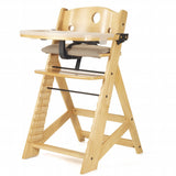 Keekaroo Height Right High Chair with Tray, Natural 0050032KR-0001
