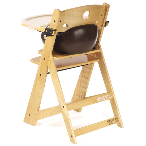 Keekaroo Height Right™ High Chair Natural Color with Infant Insert u0026 Tray (Chocolate Color  sc 1 st  Baby Strollers Place & Keekaroo Height Right™ High Chair Natural Color with Infant Insert ...