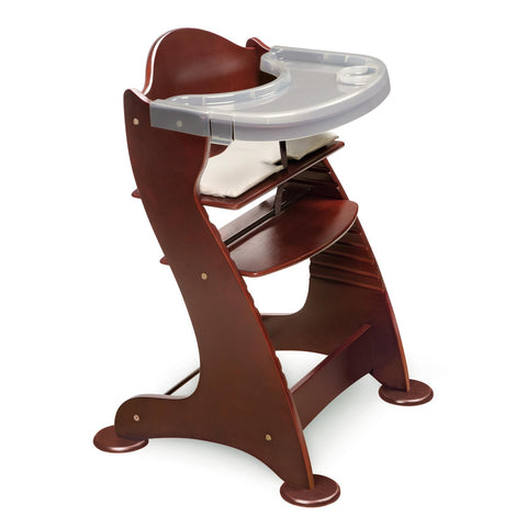 Badger Basket Embassy Adjustable Wood High Chair, Cherry 00934