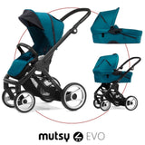 Mutsy Evo Bassinet, Pacific Blue - Baby Strollers Place