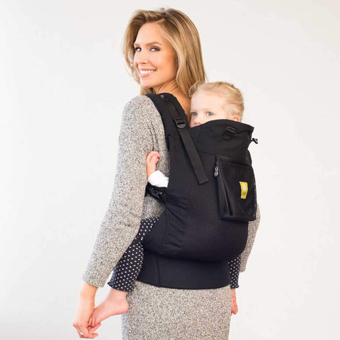 Líllébaby Carryon Airflow Toddler Carrier, Black - Buy Online
