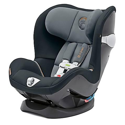 Cybex Sirona M Sensorsafe 2.0 Convertible Car Seat, Pepper Black