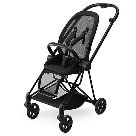 Cybex Mios Stroller Frame and Seat - Matte Black - Baby Strollers Place