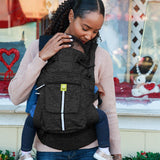 LÍLLÉbaby Pursuit Pro Baby Carrier, Heathered Onyx - Baby Strollers Place