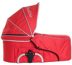 StrollAir My Duo Bassinette - Single Bassinet (Red) - Baby Strollers Place