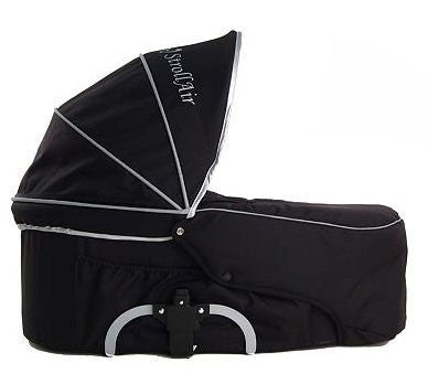 StrollAir My Duo Bassinette - Single Bassinet (Black)