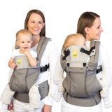 Líllébaby COMPLETE All Seasons Baby Carrier with Pockets (Stone) | SC-3S-404