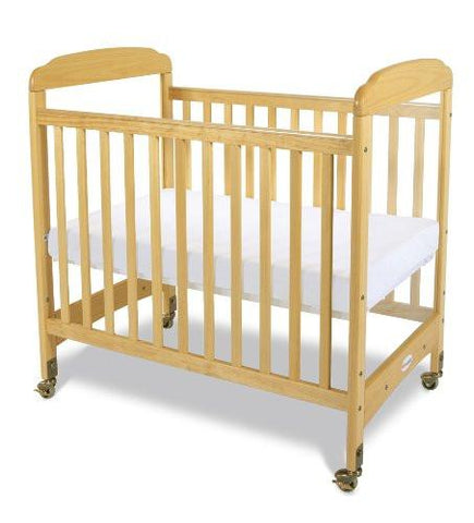 Foundations Serenity Clearview Crib, Natural - Baby Strollers Place