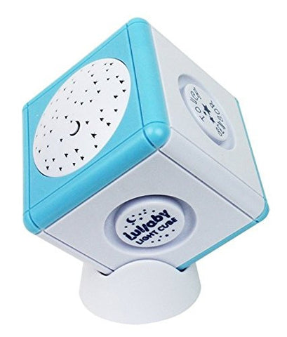 Lullaby Light Cube Portable Travel Soother and Projector (Blue Color) - Baby Strollers Place