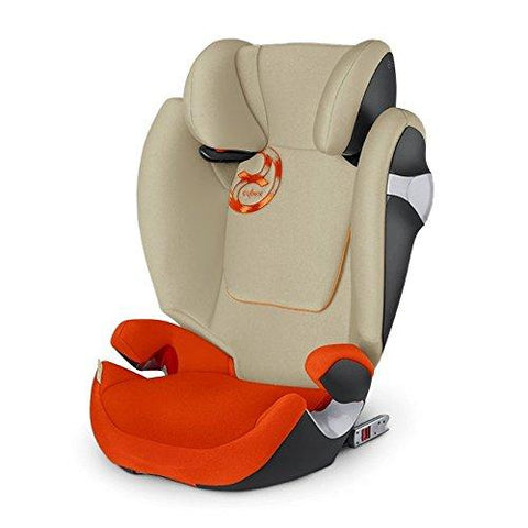 Cybex Solution M-fix Booster Car Seat, Autumn Gold 515114047
