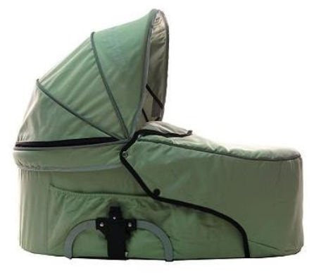 StrollAir My Duo Bassinette - Single Bassinet (Green) - Baby Strollers Place