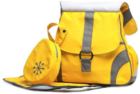 Go-Go Babyz Sidekick Bliss Yellow Color Diaper Bag