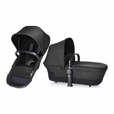 Cybex Priam 2 in 1 Light Seat, Black Beauty - Baby Strollers Place